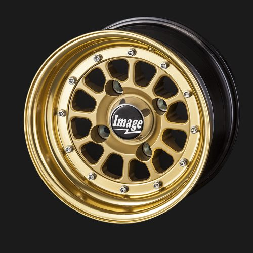 10IN-BILLET-107-GOLD-ANODIZED-HUB-AND-RIM-SANDWICH-MOUNT