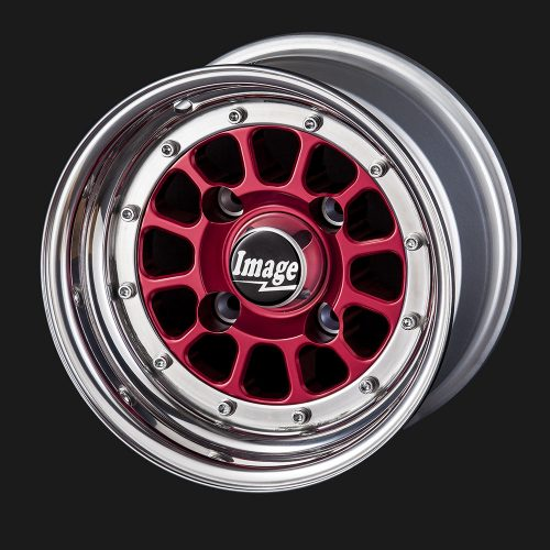 10IN-BILLET-107-RED-ANODIZED-HUB-AND-POLISHED-RIM