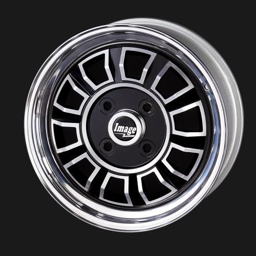 Classic MG Sports Car Alloy Wheel