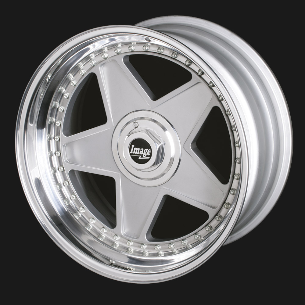 5 Spoke/Star Alloy Wheels Classic Design by Image Wheels