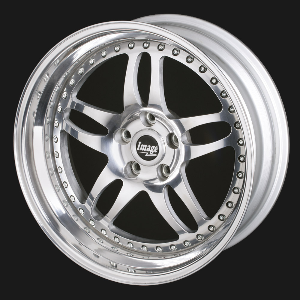 Lightweight 5-twin spoke alloy wheel Billet 91