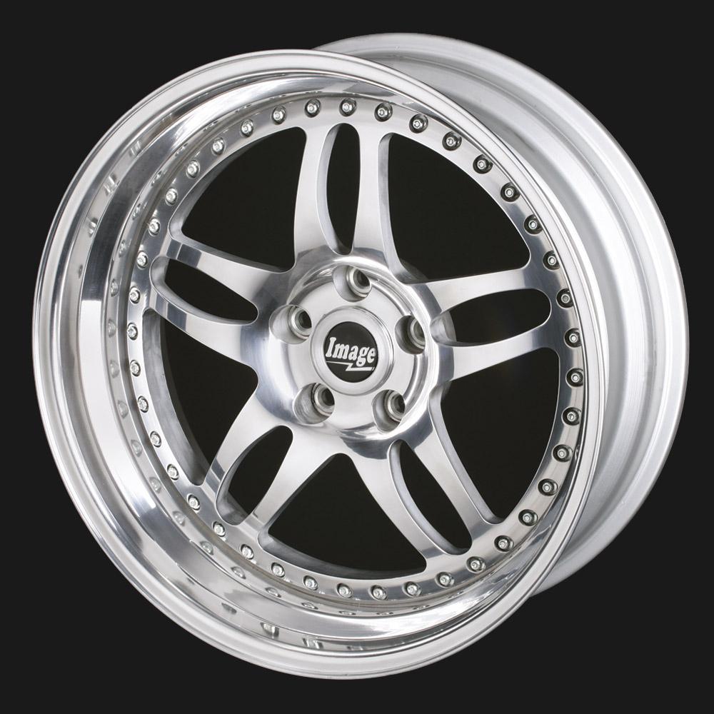 Lightweight 5-twin spoke alloy wheel Billet 91