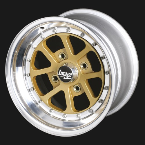 Leightweight Alloy Wheel for Sports, Race and Hillclimb Cars