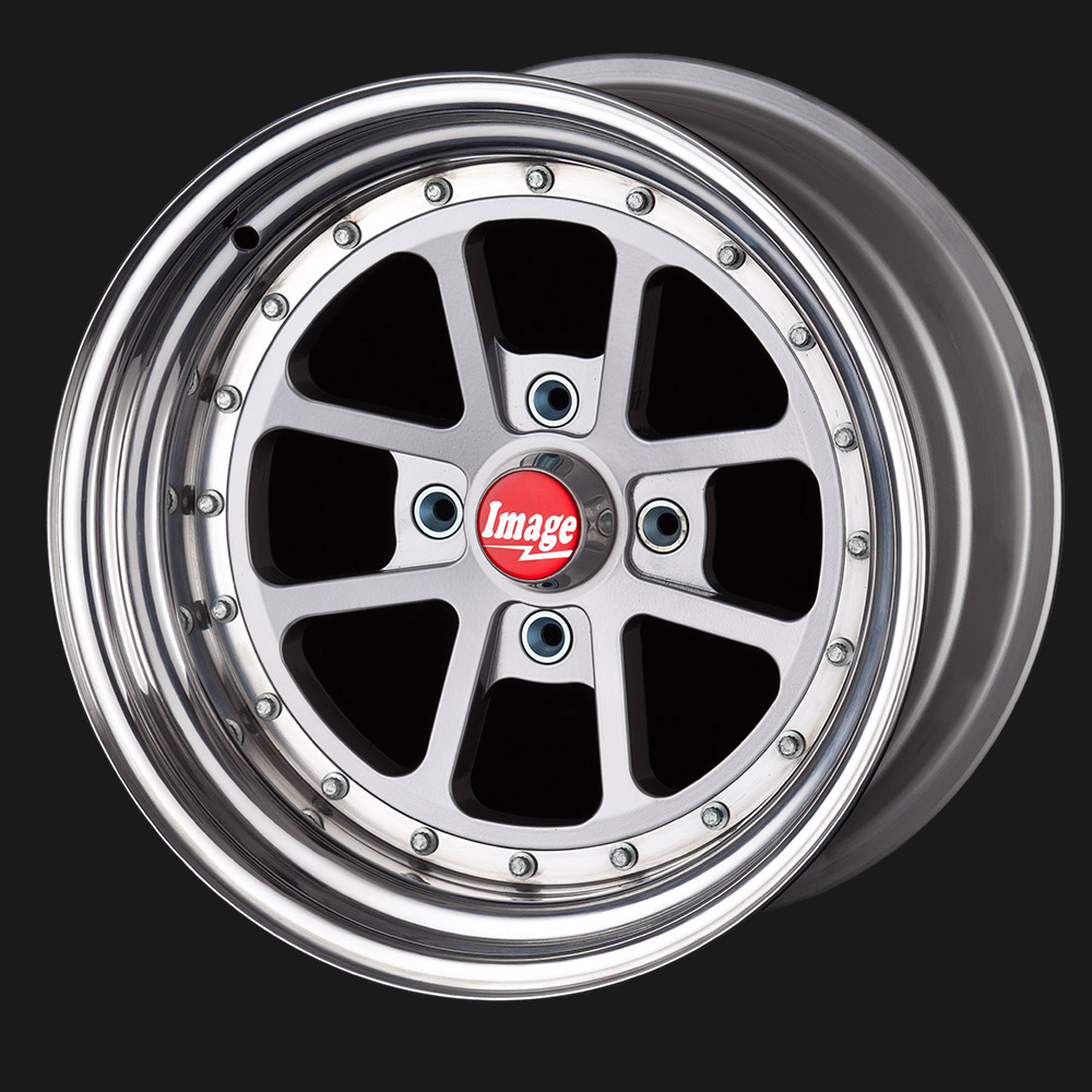 Lightweight Alloy Wheel for Sports, Race and Hillclimb Cars