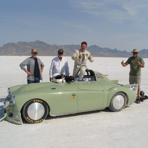 MGA Bonneville Image Wheels Billet 19