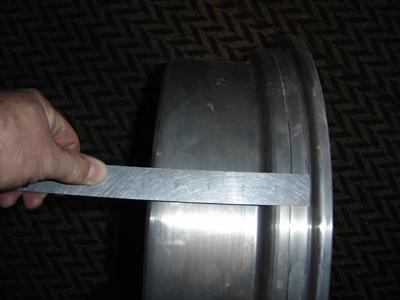 Rim Sections - measure width